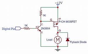 P Channel Mosfet Circuit Diagram