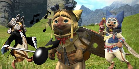 A History of Palico Companions in the Monster Hunter Series