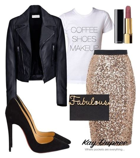 Date Night by kaydupree on Polyvore featuring polyvore fashion style Balenciaga French ...