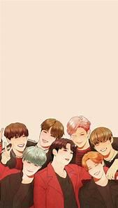 BTS Anime Wallpaper