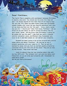 santa will write review and giveaway from abcs to acts With official letters from santa reviews