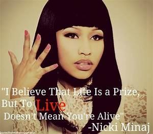 Nicki Minaj Quotes About Life