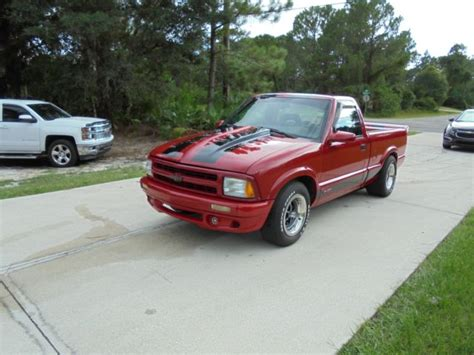 Custom Chevy S10 Ss Truck With Lt1