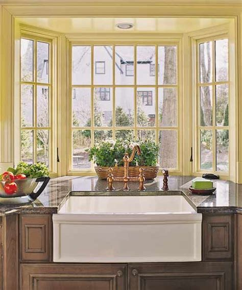 kitchen bay window bay window in kitchen ideas information