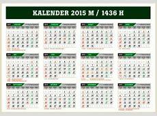 Download Kalender 2015 Indonesia Lengkap File CorelDraw