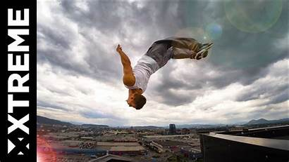 Sky Parkour Running Dominik Awesome Pushing Limits
