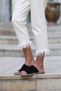 Jean Effiloché En Bas : frayed jeans journ e gal re june sixty five blog mode ~ Dallasstarsshop.com Idées de Décoration