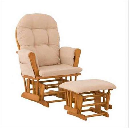 nursery upholstered rocking chair ottoman oak 80