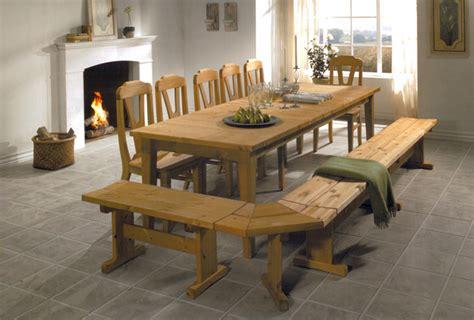 table de cuisine en bois massif table en bois massif photo 10 10 table en bois massif