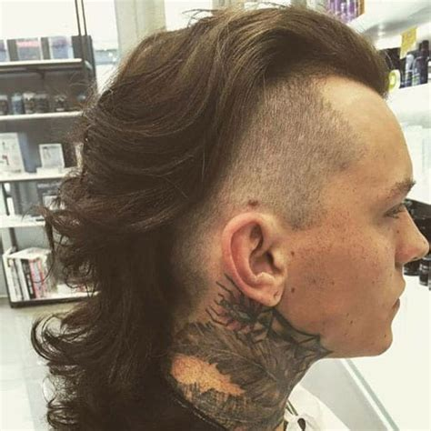 mullet haircut  trendy    menshaircutstyle