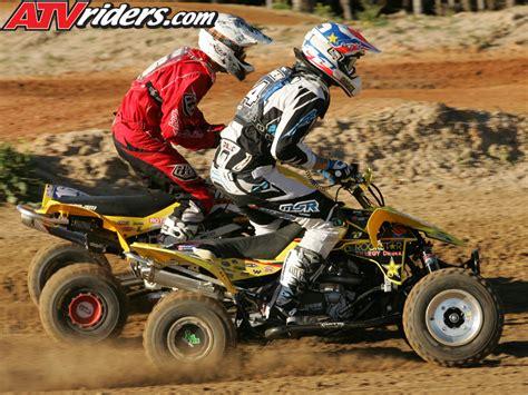 pro motocross riders names chad wienen interview 2008 suzuki ltr450 pro atv
