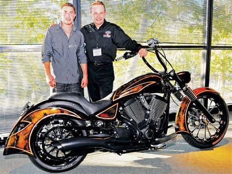 Zach Ness Custom Victory Motorcycles Kingpin
