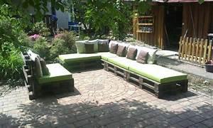 Paletten Deko Garten : bauidee paletten outdoor lounges blog an na haus und ~ Articles-book.com Haus und Dekorationen