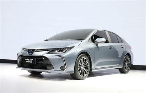 corolla toyota sedan sharp revealed styling