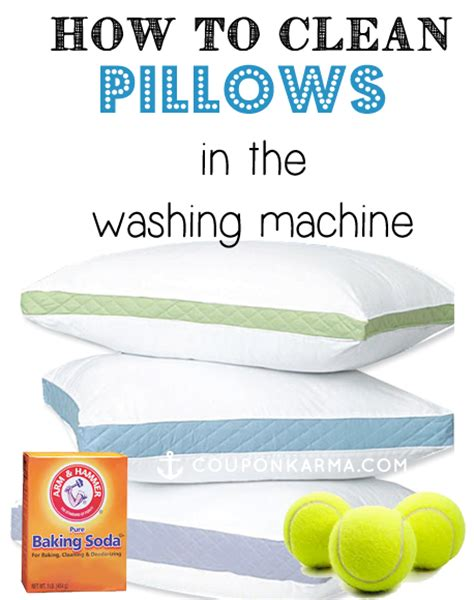 how to wash a pillow how to clean a bedroom pillow karma