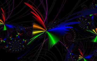Rainbow Desktop Abstract Backgrounds Butterfly Wallpapers Laptop