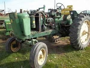 Salvaged John Deere 3010 Tractor For Used Parts
