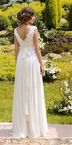 designer wedding dress bohemian wedding gown made from With mariage boheme chic robe