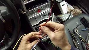 2004 Chrysler Crossfire Stereo Wiring Diagram