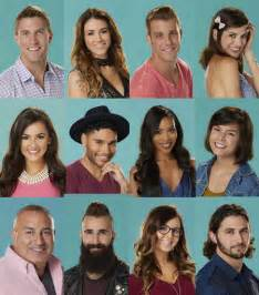 Big Brother 18 Cast