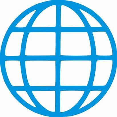 Globe Pictogram Clipart Clip Royalty Clker Vector
