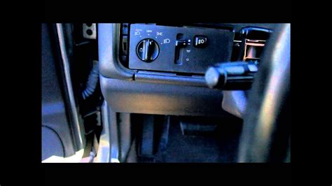 jeep dimmer switch fix youtube