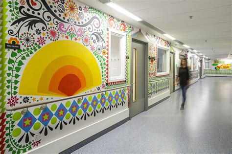 15 Artists Collaborate To Make London Children's Hospital