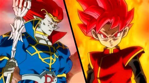 dragon ball heroes super saiyan god beat  demigra gdm