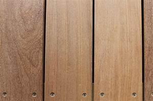 terrasse bois de qualite en curamu vissee la marque With histoire de parquet