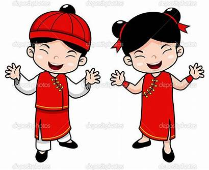 Chinese Cartoon Clipart Illustration China Vector Characters