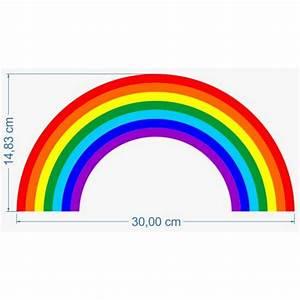 Regenbogen 7 Farben : aufkleber regenbogen ~ Watch28wear.com Haus und Dekorationen