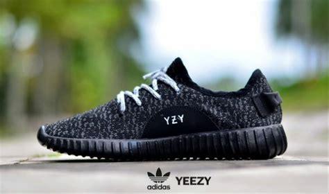sepatu sport pria adidas yzy jual sepatu adidas yeezy boost yzy hitam casual sneakers sport olahraga pria wanita di