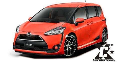 Modifikasi Toyota Sienta by Cxrider Modifikasi Toyota Sienta Cxrider