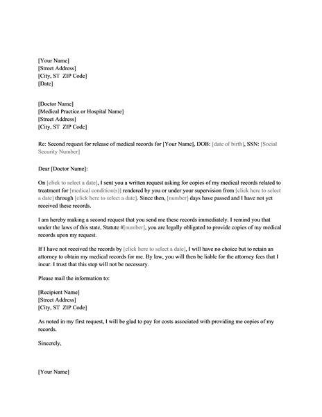 sample medical letter smart letters