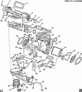 Buick Enclave  2wd   C  U0026 Heater Module Asm  Manual