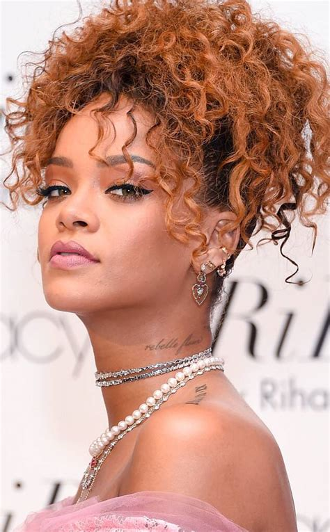rihanna    celebrity curly hairstyles  news