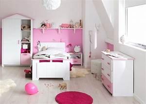 chambre fille blanche et rose eglantine lestendancesfr With chambre blanche et rose