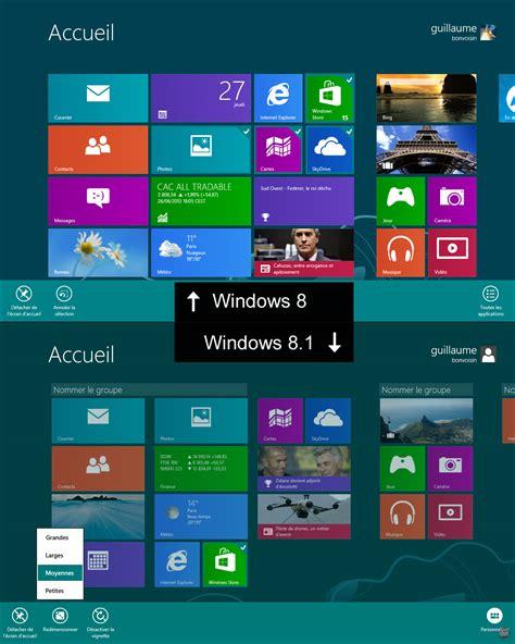 bureau windows 7 sur windows 8 1 comment mettre l interface windows 8 sur windows 7