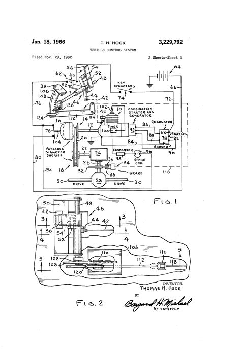 Patent US3229792 - Vehicle control system - Google Patents