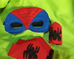 Mascara e Bracelete Homem Aranha Elo7
