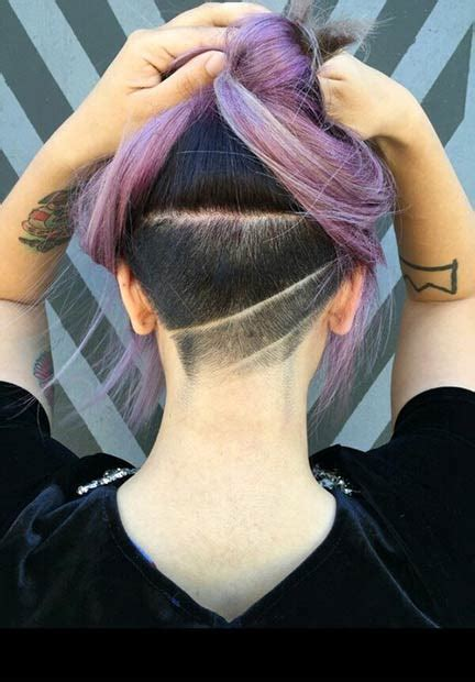 edgy chic undercut hairstyles  women styles weekly