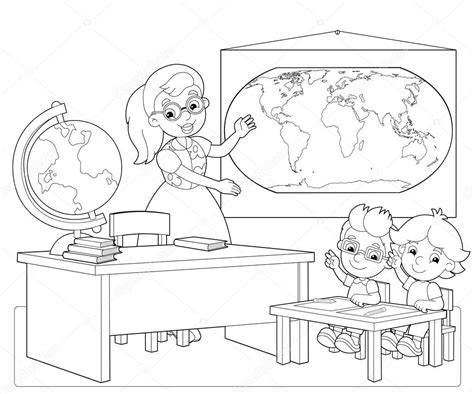 Classroom Coloring Pages Classroom Coloring Page Twisty Noodle Coloring Pages