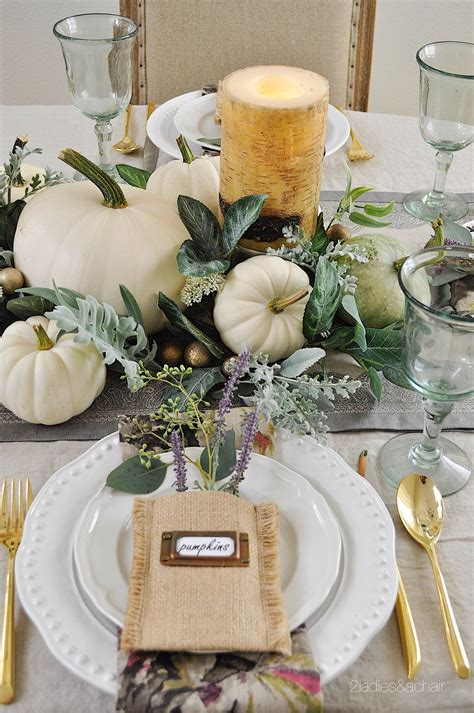 A Simple Beautiful Way to Decorate Your Dining Table for