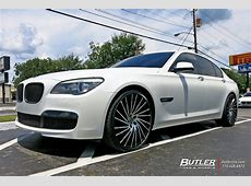 BMW 7 Series with 22in Lexani Wraith Wheels exclusively