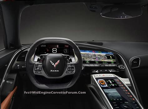 [pic] First C8 Midengine Corvette Interior Render By Fvs