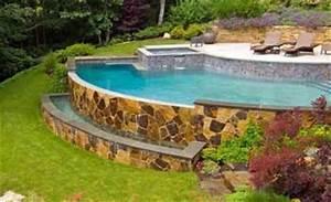 Piscine Sans Permis : la piscine d bordement une construction sp cifique ~ Melissatoandfro.com Idées de Décoration