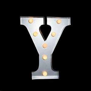 marquee light letter 39y39 led metal sign 10 inch battery With lighted metal letters wholesale