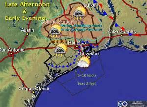 Houston Texas Weather Map Today