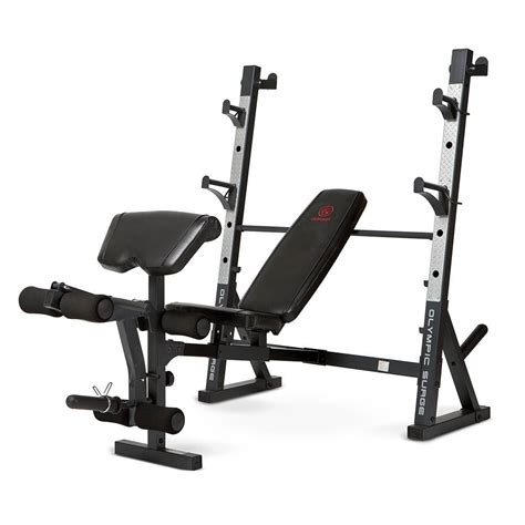 Marcy Olympic Weight Bench Md857  High Quality Heavy