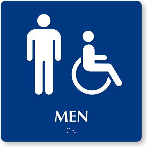 printable handicap bathroom signs image gallery handicap bathroom sign